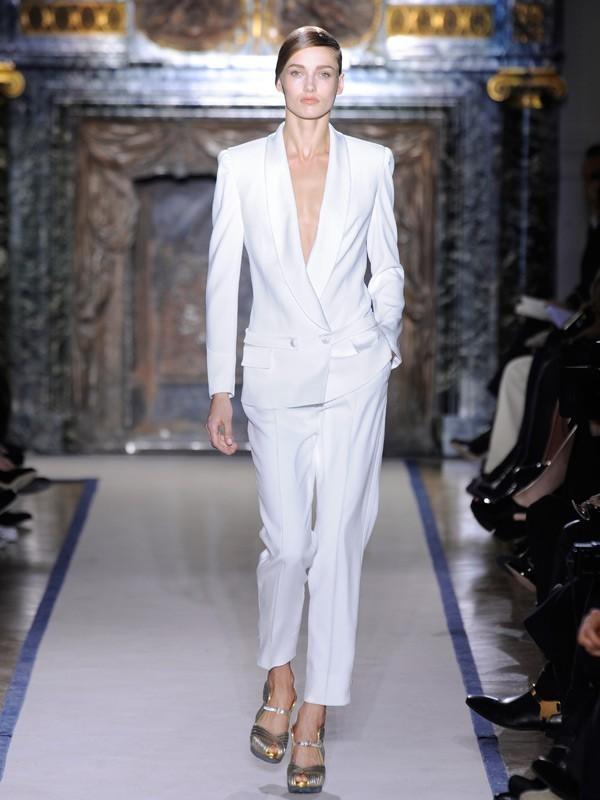 Popular White Tuxedo Women