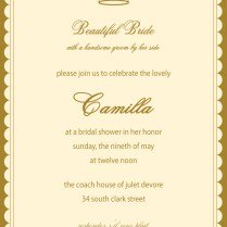 Princess Bride Wedding Invitations