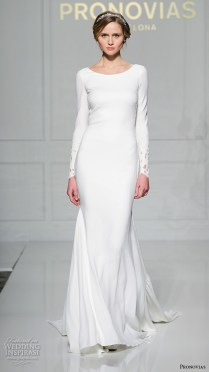 Pronovias 2016 Wedding Dresses — New York Bridal Runway Show