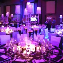 Purple Black And White Wedding Theme