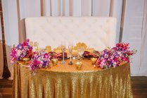 Purple Orange And Turquoise Moroccan Inspired St Pete Wedding