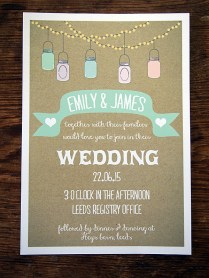 Quirky & Vintage Wedding Invitations & Stationery By A Bird & A Bee