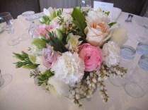 Reception Flower Arrangements Wedding Reception Floral