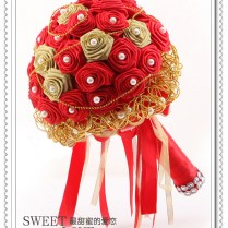 Red And Gold Bridal Bouquets Red And Gold Wedding Broochbutton