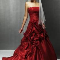 Superb Red Wedding Dress New Dresses