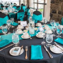 Teal Blue Wedding Centerpieces