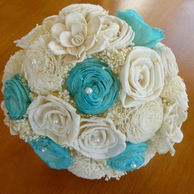 Tiffany Blue Wedding Boquets