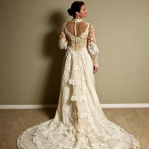 Victorian Inspired Wedding Dress