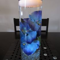 Wedding Blue Wedding Centerpieces