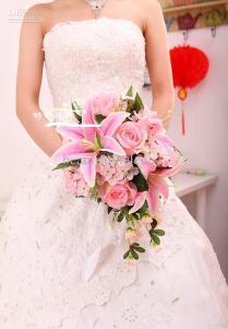 Wedding Bouquet Bride Bouquet Artificial Wedding Bouquets Silk