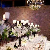 Wedding Candelabra Centerpieces