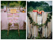 Wedding Chair Decorations 8