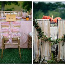 Wedding Chair Decorations 8
