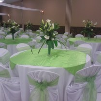 Wedding Decor Lime Green And White Image Ulhq