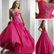 Wedding Dress With Pink