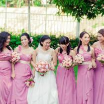 Wedding Entourage Dresses