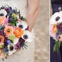 Wedding Flowers Purple And Orange