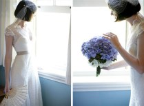 Wedding Hairstyles For Brides With Short Hair And Veils