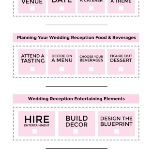 Wedding Reception Checklist · Bg Events And Catering
