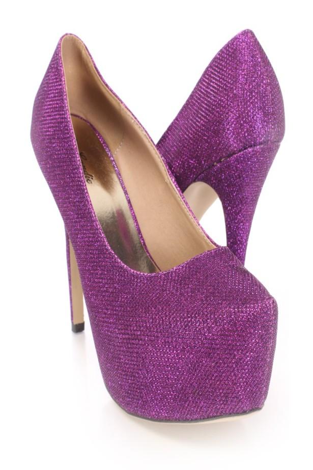 96fa5afcdad5 Dark Purple Wedding Shoes