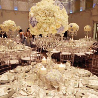 Wedding Table Centerpieces Candelabra