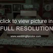 Wedding Tag Cupcake Stand