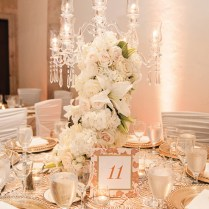 White And Gold Themed Wedding In Houston By Lulu Lopez Photography