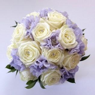 White Lilac Wedding Bouquet White Wedding Flowers Wedding