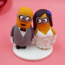 Wholesale Minion Wedding Cake Topper