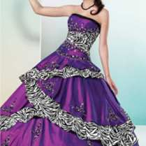 You Can Share These Purple Wedding Dress On Facebook Stumble Upon