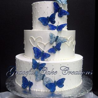 1000 Ideas About Butterfly Wedding Cake On Emasscraft Org