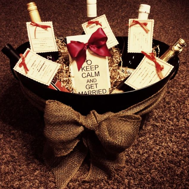 10 Best Ideas About Bridal Gift Baskets On Emasscraft Org