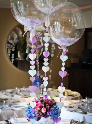 17 Best Ideas About Balloon Centerpieces Wedding On Emasscraft Org