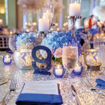 17 Best Ideas About Blue Wedding Centerpieces On Emasscraft Org