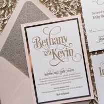 17 Best Ideas About Glitter Wedding Invitations On Emasscraft Org