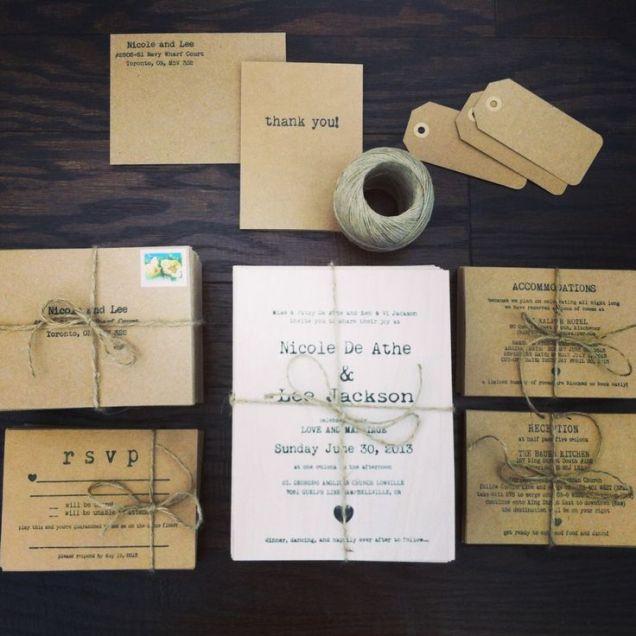 17 Best Ideas About Homemade Wedding Invitations On Emasscraft Org