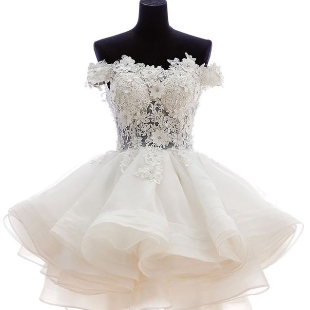 17 Best Ideas About Mini Wedding Dresses On Emasscraft Org