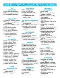 17 Best Ideas About Wedding Checklist Printable On Emasscraft Org