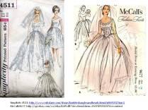 17 Best Images About Vintage Wedding Dress Illustrations On