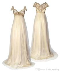 1800 Victorian Style Wedding Dresses Regency Inspired Vintage
