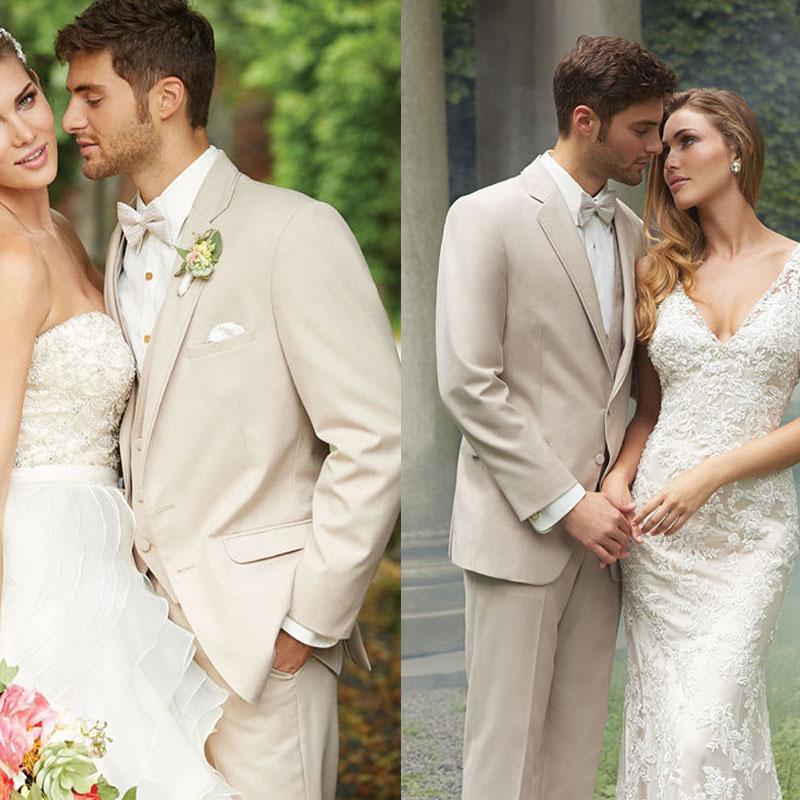 Men Wedding Hair: Mens Beige Suits Weddings