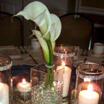 37 Stunning Wedding Candle Centerpieces