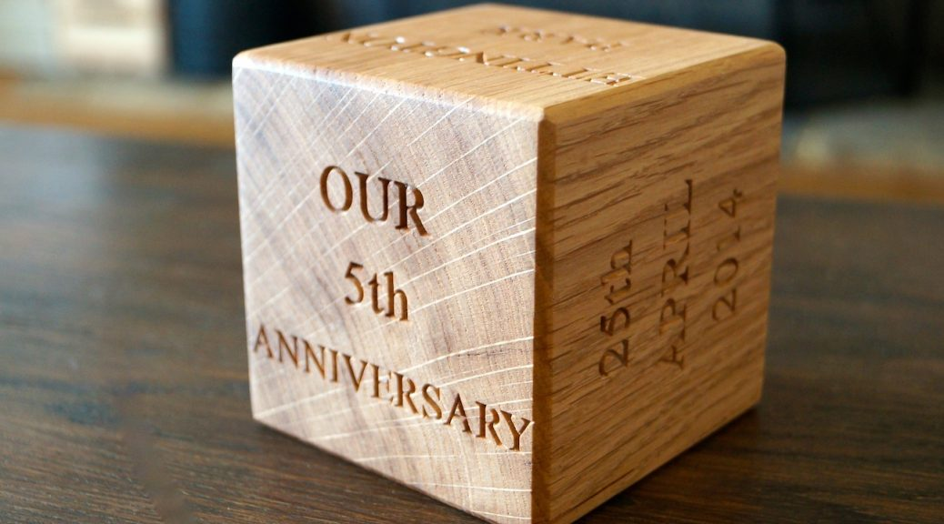 5 Year Wedding Anniversary Party Ideas