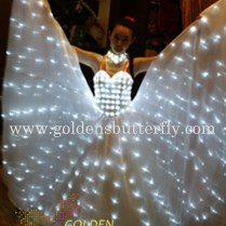 Aliexpress Com Buy Led Wedding Dress Luminous Suits Light