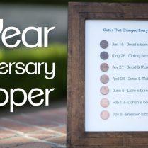 Amazing 7 Year Wedding Anniversary Gift Design And Ideas 6540