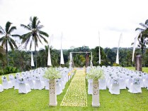 Attractive Outdoor Wedding Decoration Ideas Outside Wedding