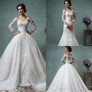 Ball Gown Wedding Dresses With Detachable Skirt Â« Bella Forte