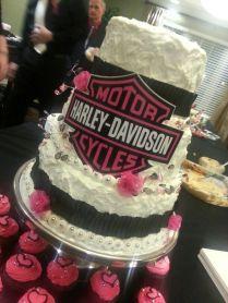 Biker Wedding Cake Ideas