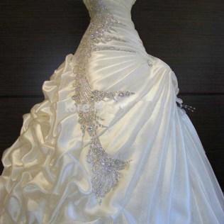 Bling Ball Gown Wedding Dresses Â« Bella Forte Glass Studio