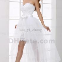 Custom Made Jewel Cap Sleeve Detachable Wedding Dresses Mini